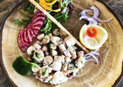 Salade de poulpes du Grand Bar des Goudes